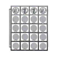 Hoja Cowens 20 Espacios para Monedas - Numisfila
