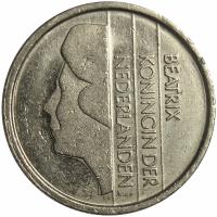 Moneda Holanda 25 Centavos 1982-2001 - Numisfila