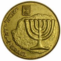 Moneda Israel 10 Agorot 1985 -2014 - Numisfila