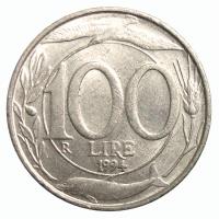 Moneda Italia 100 Lire 1993-1998 - Numisfila