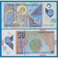 Billete Plastico Macedonia 50 Denari 2018 - Numisfila