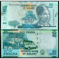 Billete Malawi 50 Kwacha 2017 - Numisfila