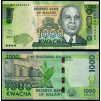Billete Malawi 1.000 Kwacha 2016 - Numisfila
