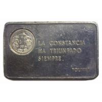 Lingote Plata Pura Bolívar Pensamientos, Italcambio - Numisfila