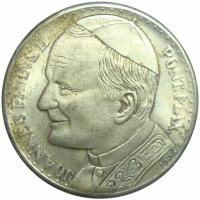 Medalla Papa Juan Pablo II y el Vaticano - Numisfila