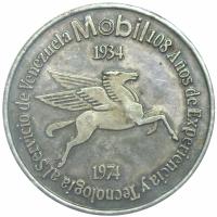 Medalla ExxonMobil 40 Años en Venezuela - Numisfila