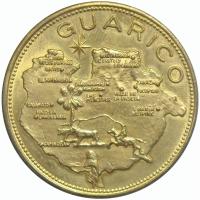 Medalla Guárico Estados de Venezuela Italcambio - Numisfila