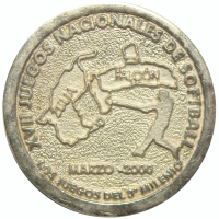 Medalla XVII Juegos Softball Zulia Falcon 2000 CICPC  - Numisfila