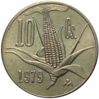Moneda Mexico 10 Centavos 1977 - 1979 - Numisfila