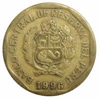 Moneda Peru 10 Centimos 1991-1996 - Numisfila