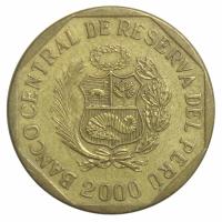 Moneda Peru 10 Centimos 1999-2000 - Numisfila
