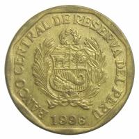 Moneda Peru 20 Centimos 1991-1996 - Numisfila