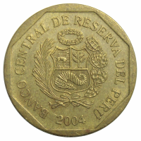 Moneda Peru 20 Centimos 2001-2007 - Numisfila