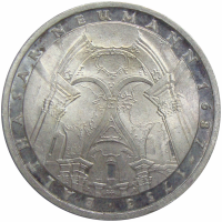 Moneda Alemania 5 Marcos 1978 Nacimiento J. Balthasar Neumann - Numisfila