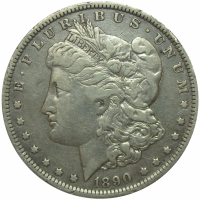 Moneda Plata E.E.U.U. Dolar Morgan 1890 O Nueva Orleans - Numisfila
