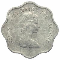 Moneda Caribe del Este 5 Centavos 1981-2000 - Numisfila