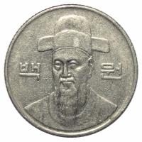Moneda Corea del Sur 100 Won 1984-2012 Yi Sun-Sin - Numisfila