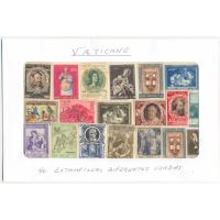 Vaticano 40 Estampillas diferentes usadas - Numisfila