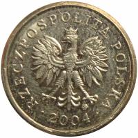 Moneda Polonia 10 Groszy 1991-2004 - Numisfila