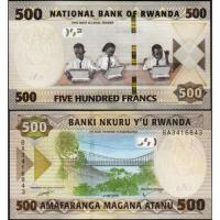 Billete Ruanda 500 Francs 2019 - Numisfila