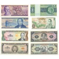 Set de 8 Billetes Mundiales de América - Numisfila