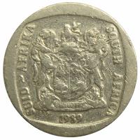 Moneda Sudafrica 2 Rand 1989-1991 - Numisfila