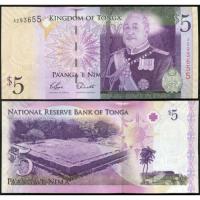 Billete Tonga 5 Paanga 2009 - Numisfila