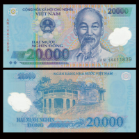 Billete Plastico Vietnam 20.000 Dong 2014 Ho Chí Minh - Numisfila