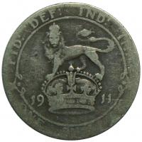 Moneda Gran Bretaña 1 Shilling 1911 George V - Numisfila
