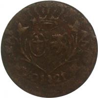 Moneda Provincia Caracas ¼ Real Cuartillo 1821 - Numisfila
