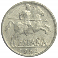 Moneda España 10 Centimos 1941-1953 - Numisfila