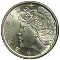 Moneda Brasil 20 Centavos 1975-1979 - Numisfila