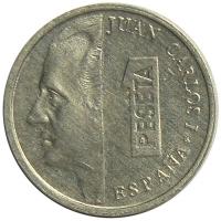 Moneda España 1 Peseta 1992-2000 Juan Carlos I - Numisfila