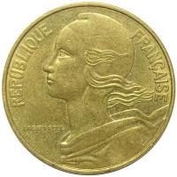 Moneda Francia 20 Centimos 1962-1986 - Numisfila
