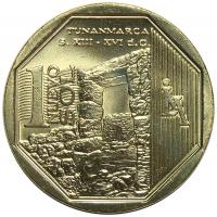 Moneda Peru 1 Nuevo Sol de 2013 Tunanmarca - Numisfila