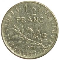 Moneda Francia 1/2 Franc 1965-1986 - Numisfila