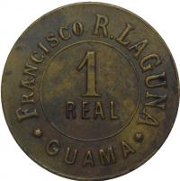 Ficha Francisco R Laguna 1 Real Guama - Numisfila