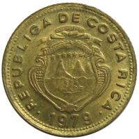 Moneda Costa Rica 5 Céntimos 1979 - Numisfila