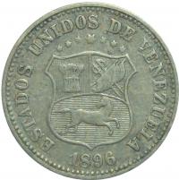 Moneda 5 Centimos 1896 - Puya - Numisfila