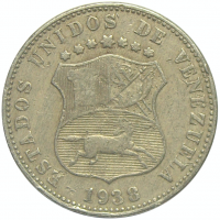 Moneda 12½ Céntimos - Locha 1938 - Numisfila