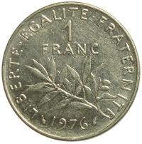 Moneda Francia 1 Franc 1960-2001 - Numisfila