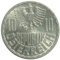 Moneda Austria 10 Groschen 1951-2001 - Numisfila