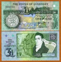 Billete Conmemorativo Guernsey 1 Pound 2013 - Numisfila