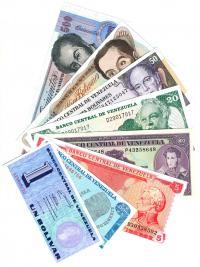 Set 8 Diferentes Billetes de Venezuela Desmonetizados - Numisfila