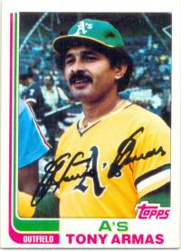 Barajita Antonio Armas Fleer 1982 #60 - Numisfila