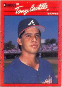 Barajita Tony Castillo Donruss 1990 # 592 - Numisfila