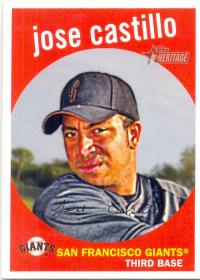 Barajita Jose Castillo Topps 2008 # 552 - Numisfila