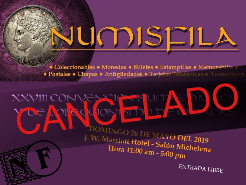 XXVIII Convención Numismática y de Coleccionismo de Caracas -CANCELADO- | Numisfila