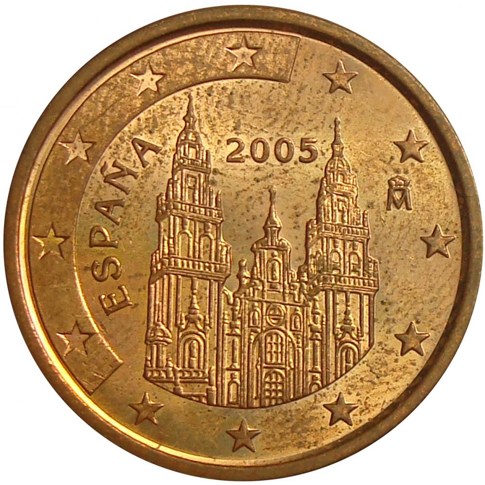 Moneda España 5 Centavos de Euro 2004-2005  - Numisfila