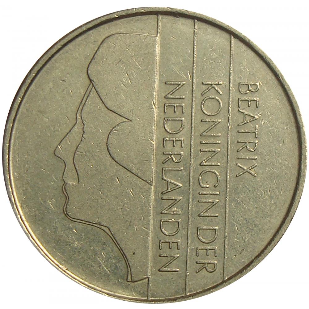 Moneda Holanda 1 Gulden 1982-1994  - Numisfila